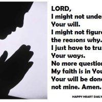 Help me, Lord...