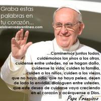 Palabras Del Papa Francisco I
