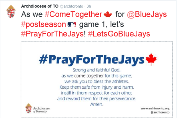 Pray for the Jays